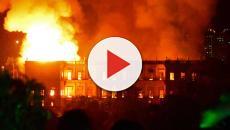 VÍDEO: El Museo Nacional de Río de Janeiro es consumido por las llamas