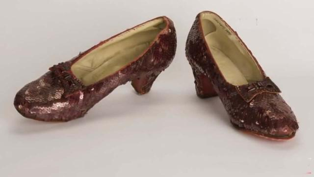 The Wizard of Oz: Judy Garland's ruby slippers found after 13 years
