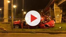 VIDEO: Un accidente en una autopista de Colombia se salda con tres muertos