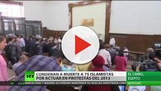 VIDEO: EGIPTO/ Tribunal condena a muerte a 75 personas por la matanza de 2013