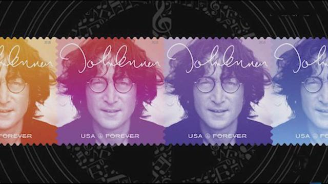 US Postal Service releases John Lennon commemorative stamp