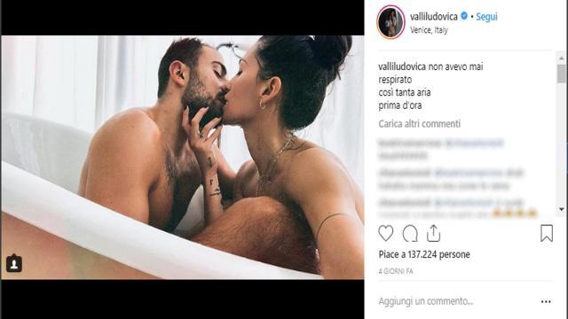 Bufera su Ludovica Valli, pubblica su IG un video bollente con il fidanzato