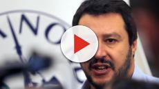 Salvini in diretta su Facebook, la busta forse era stata aperta