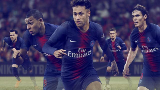 Près d'un million de maillots vendus pour le PSG