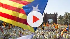 Diada 2018: Independentistas marchan en las calles de Barcelona