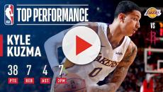 Lakers standout Kyle Kuzma continues to improve each day.