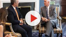 VÍDEO: Iván Duque y Mike Pence acuerdan mantener presión sobre venezolano