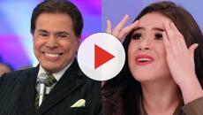 Silvio Santos pergunta intimidades de Maísa durante gravação