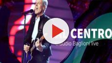 Claudio Baglioni in concerto su Raiuno, anticipazioni