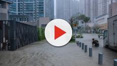 L'inarrestabile ciclone Mangkhut fa danni in Cina e nelle Filippine