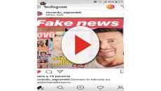 'Belen e Fabrizio Corona sono tornati insieme' ma Corona risponde: 'Fake news'