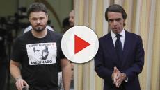 VÍDEO: José María Aznar tiene una tensa comparecencia en el Congreso