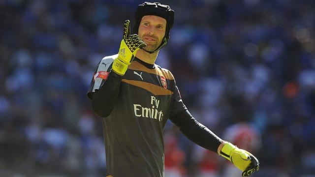 Goalkeeper Petr Cech unsure of Arsenal future