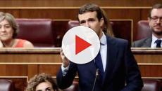 Casado sobre Sánchez: 'No es que su Gobierno no avance, es que se cae a trozos'