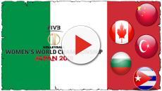 Mondiali volley femminile, le partite dell'Italia in diretta tv sulla Rai