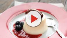 Delicious Italian dessert Panna Cotta recipe