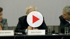 Lula recebe a visita de Noam Chomsky