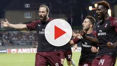 Europa League: Gonzalo Higuaín regala la vittoria al Milan