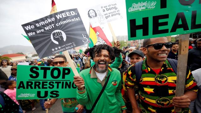 South Africa's top court legalises private use of cannabis