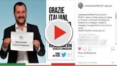 Approvato 'Decreto Salvini' sicurezza e immigrazione: