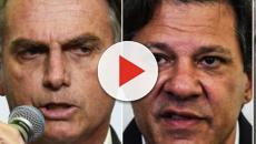 Jair Bolsonaro estaciona em 28% e Haddad cresce com 22% segundo pesquisa