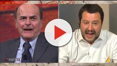 Luigi Bersani intervistato da Giovanni Floris