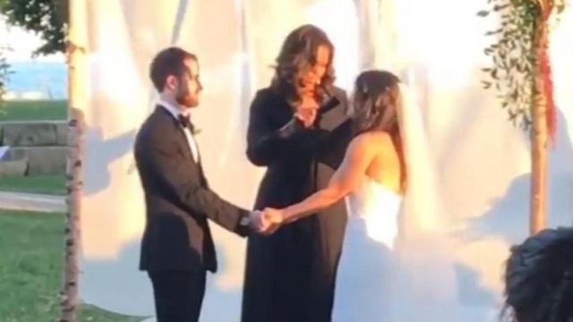 Michelle Obama la boda de la hija de unos amigos