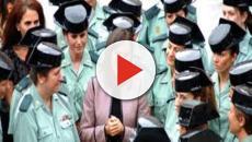 VIDEO: La Reina Letizia celebra 30 años de la mujer en la Guardia Civil