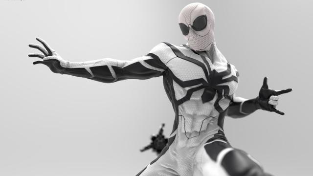 Alguns dos uniformes que o Homem-Aranha já usou nos quadrinhos