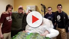 Gamers meet in real life after one of them becomes terminally ill