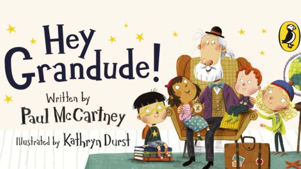 Paul McCartney has released a children's picture book called Hey Grandude