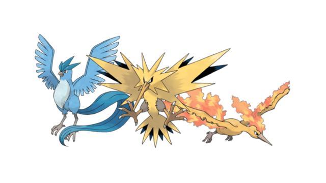 Pokémon: 5 Poderosos trios lendários da franquia
