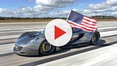 Os 5 carros mais rápidos do mundo