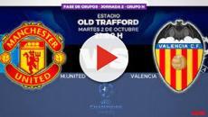 VIDEO: Manchester United y Valencia buscan tres puntos en UEFA Champions League