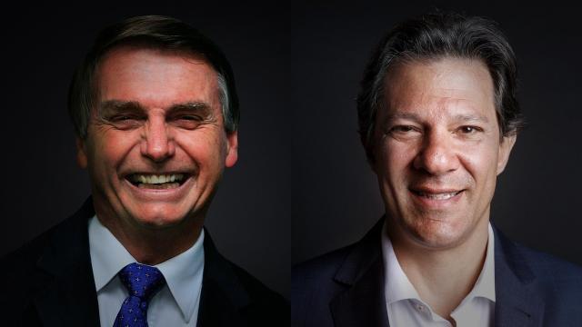 Bolsonaro chega a 32% enquanto Haddad vai a 23%
