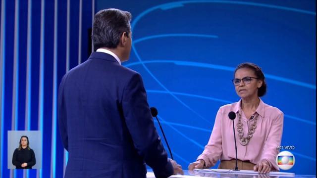 Os melhores momentos do debate à presidência da Globo