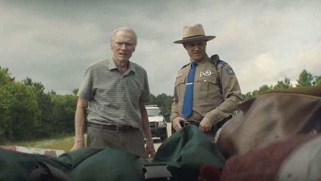 Clint Eastwood and Bradley Cooper star in The Mule