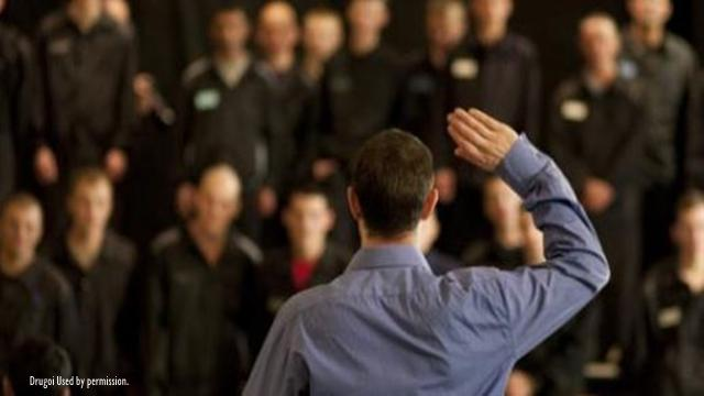 Alex Dower helps people in prison by using the power of acting