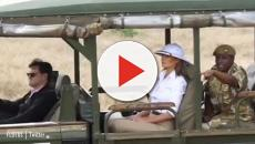 Kenya: Melania Trump wearing a pith helmet annoys Twitterati