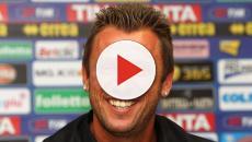 Cassano si allena: