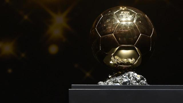 Les 5 derniers Ballons d'Or de la France