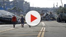 USA: CNN riprende in video la furia devastante dell'uragano Michael