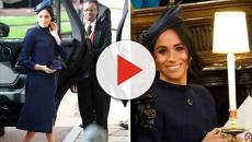 Meghan Markle deslumbra en la Boda Real de la princesa Eugenie y Jack