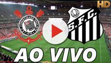 Corinthians X Santos ao vivo hoje