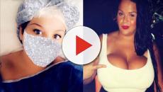 Sarah Fraisou (LVDA3) a subi une réduction mammaire