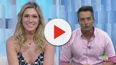 Lívia e Leo Dias baem-boca por causa de irmã de Neymar Jr