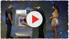 Tu si que vales: un uomo dentro la lavatrice per un minuto, panico in studio