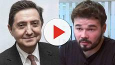 Federico Jiménez Losantos contra Rufián: 'tocinillo del Llobregat'