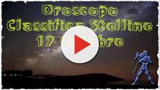 Oroscopo 17 ottobre 2018: classifica stelline