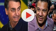 Jair Bolsonaro e PT de Haddad, marcam 2º turno no horário eleitoral na TV